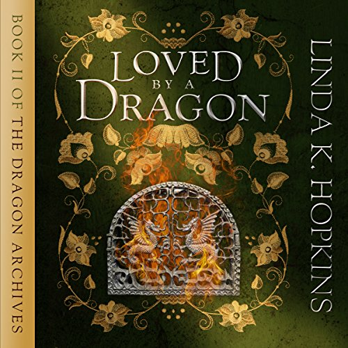 Loved by a Dragon audiobook cover art