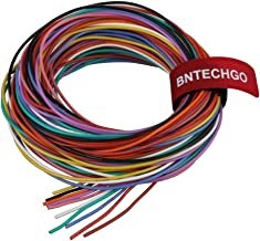 BNTECHGO 24 Gauge Silicone Wire Kit 10 Color Each 10 ft Flexible 24 AWG Stranded Tinned Copper Wire