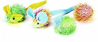 Ethical Pet Stringy Mice and Ball with Nip (Pack of4)