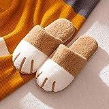 zapatillas de casa hombre invierno,Zapatillas de algodón para...