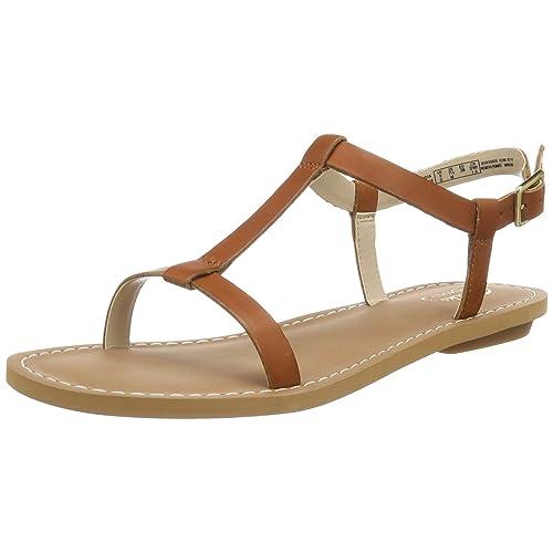 d887fb603648 Tan Wedge Sandal  Amazon.co.uk