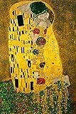 Gustav Klimt The Kiss 1908 Austrian Symbolist...