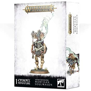 Games Workshop Warhammer 40,000: OSSIARCH BONEREAPERS MORTISAN SOULMASON