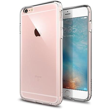 【Spigen】 iPhone6s Plus ケース / iPhone6 Plus ケース 対応 全面クリア 耐衝撃 米軍MIL規格取得 ウルトラ・ハイブリッド SGP11644 (クリスタル・クリア)