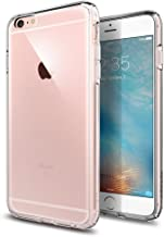 iPhone 6s Plus Case, Spigen [Ultra Hybrid] AIR CUSHION [Crystal Clear] Clear back panel + TPU bumper for iPhone 6 Plus (2014) / 6s Plus (2015) - Crystal Clear (SGP11644)