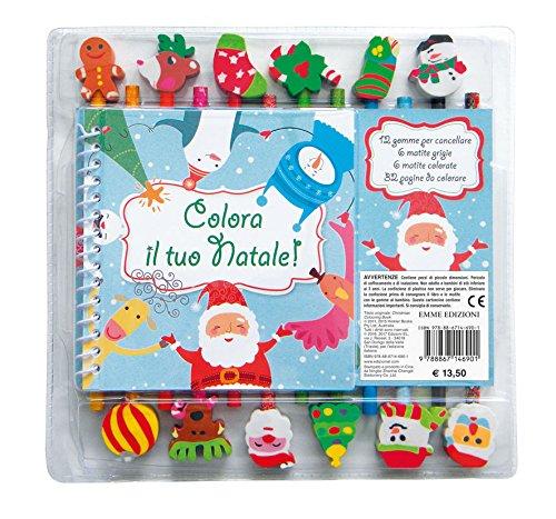 Colora il tuo Natale! Ediz. a colori. Ediz. a spirale. Con Prodotti vari