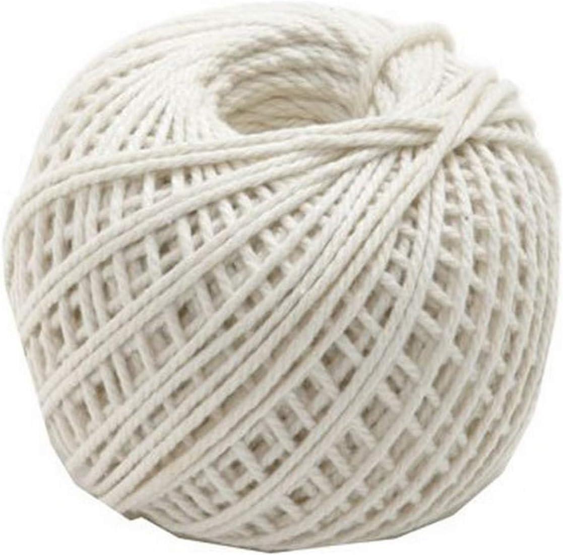 Norpro Max 59% OFF Cotton Twine White 73 yd. Denver Mall 220'