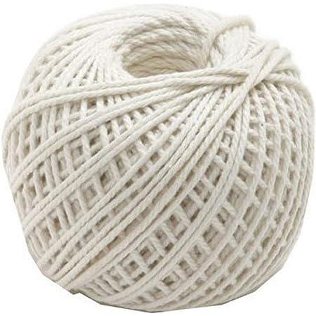 Norpro Cotton Twine White, 220'/73 yd.
