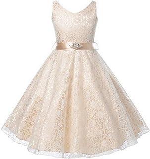 60201bfd08ab1 Filles Robe De Bal De Mariage Princesse Demoiselle D'honneur Parti De Bal D'