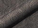 Möbelstoff AMSTERDAM Muster Abstrakt Farbe grau als