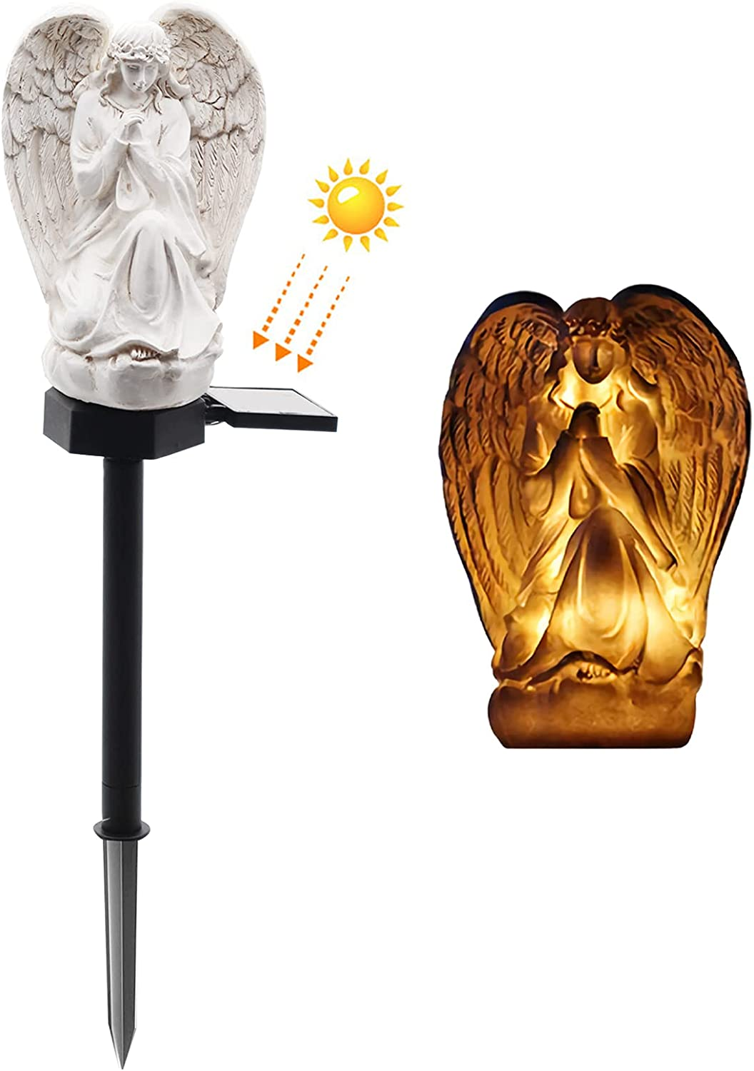 WAYDA Solar Light Outdoor Angle for Courier Fixed price for sale shipping free Ang LED Waterproof Cemetery