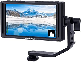 FEELWORLD F5 5 Inch DSLR On Camera Field Monitor Small Full HD 1920×1080 IPS Video..