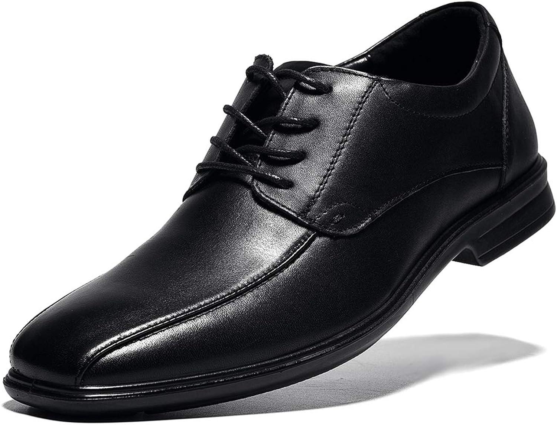 Men's Formal Oxford Dress Leather shoes Lace-up Black