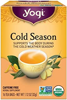Yogi Herbal Teas, Cold Season 16 ea ( pack of 3)