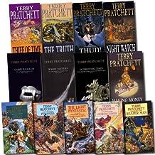 Terry Pratchett Collection Discworld 13 Books Set (The Light Fantastic, Pyramids, Carpe Jugulum, Wyrd Sisters, Interesting...