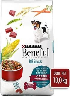 Beneful Alimento para Perro Minis Carne Razas Pequeñas, Color Blanco, 10 kg