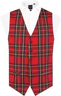 Best red tartan waistcoat Reviews