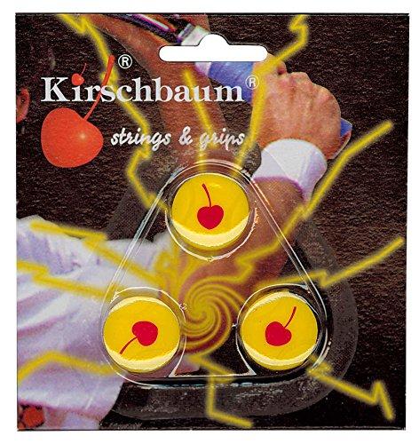Kirschbaum Vibrastopper Tennis Dämpfen X 3, gelb