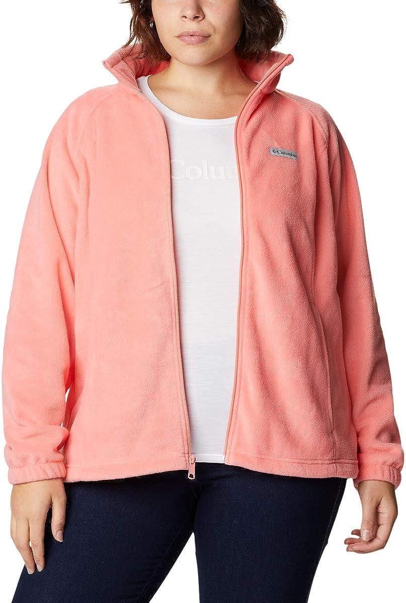 Columbia Women's Benton Springs Full Fleece Jacket Very popular! Zip 5 ☆ very popular