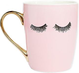 Amazon com: pink coffee mug