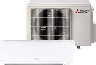 Mitsubishi 12,000 Btu 23.1 Seer Single Zone Ductless Mini Split Air Conditioning System (AC only)