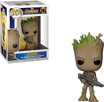Funko 26904 Pop Marvel Avengers Infinity War Teenager Groot Mit Pistole Collectible Figur Funko Pop Marvel Amazon De Spielzeug