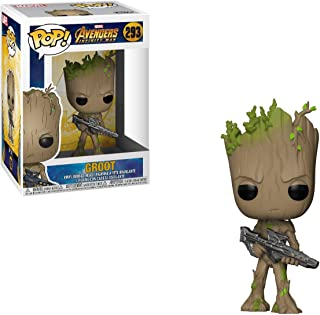 Funko POP! Marvel: Avengers Infinity War - Teen Groot with Gun