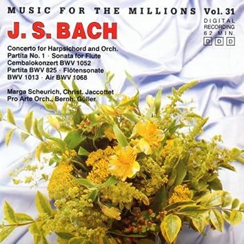 Music For The Millions Vol. 31 - Johann Sebastian Bach