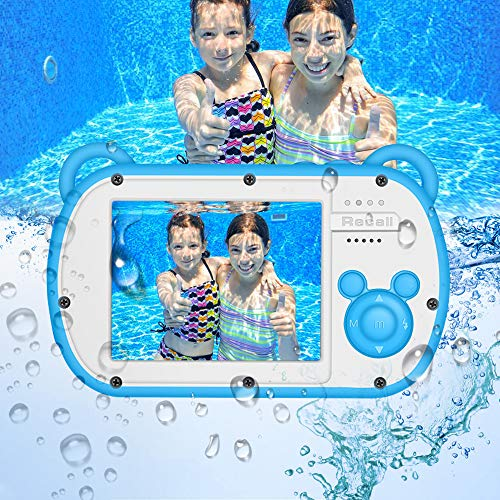 Underwater Camera for Kids, HD 1080P Waterproof Kids Camera, Video Recorder Action...