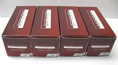 4 Rolls Bergger Pancro 400 Black and White Negative 120 Format Film