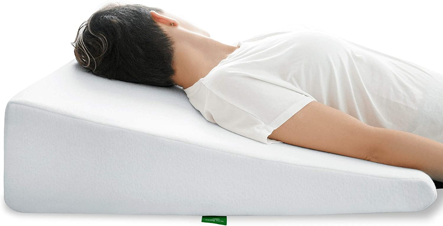 Sale item Super popular specialty store Cushy Form Bed Wedge Pillow Memory Sleeping for - Fo
