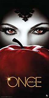 Once Upon a Time (Third Series) Evil Queen Regina Apple Fantasy Drama Fairy Tale TV Television Show Poster Print, Rolled 1...