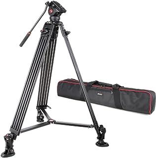 Viltrox VX-18 Trípodes completos Aleación De Aluminio con 360 Grado Cabeza De Bola para Cámaras Reflex Canon Nikon Sony Fuji