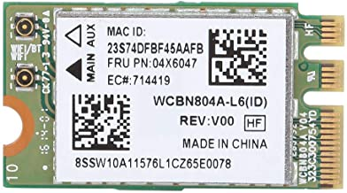 Tosuny Red inalámbrica, Tarjeta de Red inalámbrica de Doble Banda para Qualcomm Atheros QCNFA34AC, Red Bluetooth 4.0 para WIN7/WIN8/WIN10.