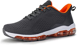 Hawkwell Women's Air Cushion Breathable Knit Walking Running Sneakers