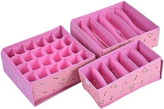 Les Bottes de placards, Xgz Laminating étanche Coque rigide Boîte de rangement pour mouchoirs, Sous-vêtements, soutien-gor...