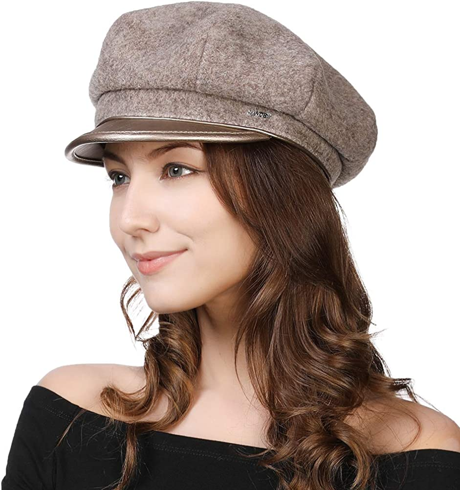 Womens Newsboy Cap Baker Berets Max 54% OFF Hat 70% OFF Outlet Conductor Fisherman Wi Greek