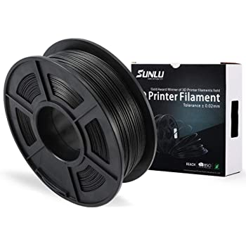 Filamento de la impresora 3D de fibra de carbono SUNLU PLA, fibra ...