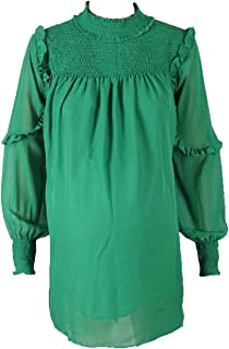 M4M Fashion Maternity Blouses For Women - Green - X-Large