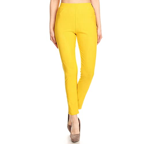 68282e947f01 Jvini Women s High Waisted Super Soft Pull-On Skinny Pants