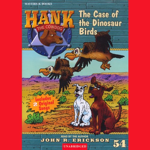 The Case of the Dinosaur Birds audiobook cover art