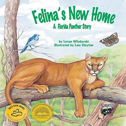 Felina's New Home: A Florida Panther Story copertina