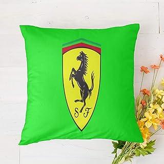 Funda de almohada Ferrari con funda de almohada decorativa para sofá, dormitorio, 45 x 45 cm