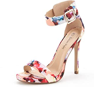 Women's Ankle Strap Pumps Heel Sandals