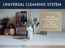 De'Longhi | EcoDecalk | DLSC500 | Natural Descaler For Coffee Machines | 500ML Pack, Clear