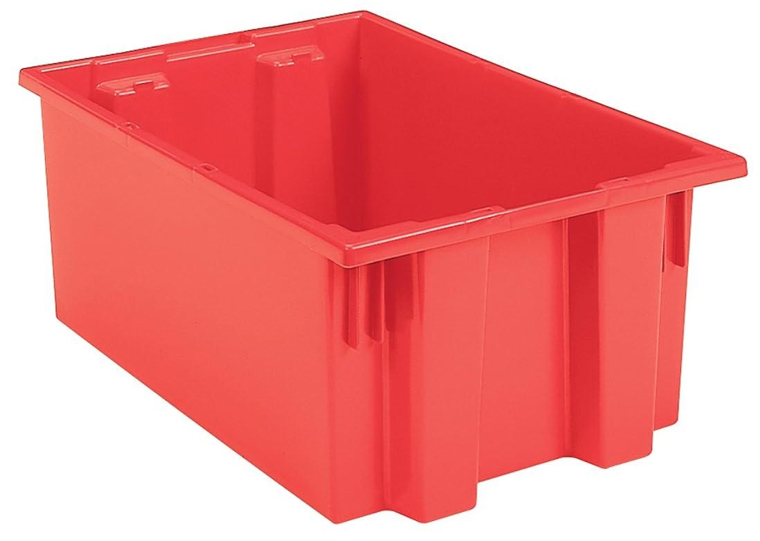 エイリアンサイレンジョガーakro-mils Nest andスタックプラスチックストレージと配布トート、19.5-inch L by 15.5-inch W by 13インチH, Case of 6