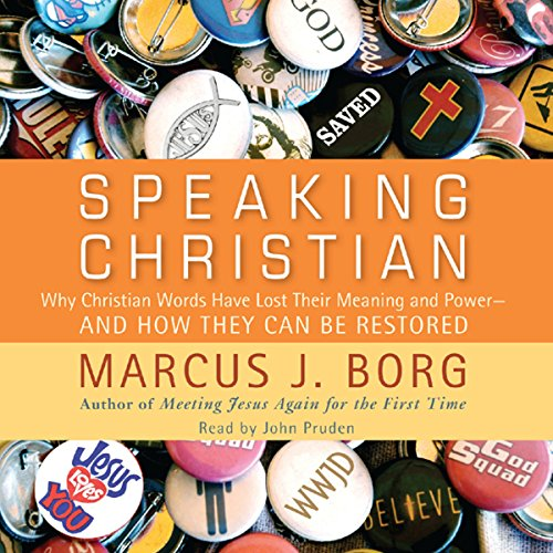 Speaking Christian audiobook cover art