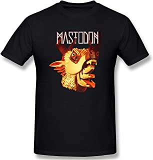 Mens Logo of Mastodon The Hunter Funny T-Shirt
