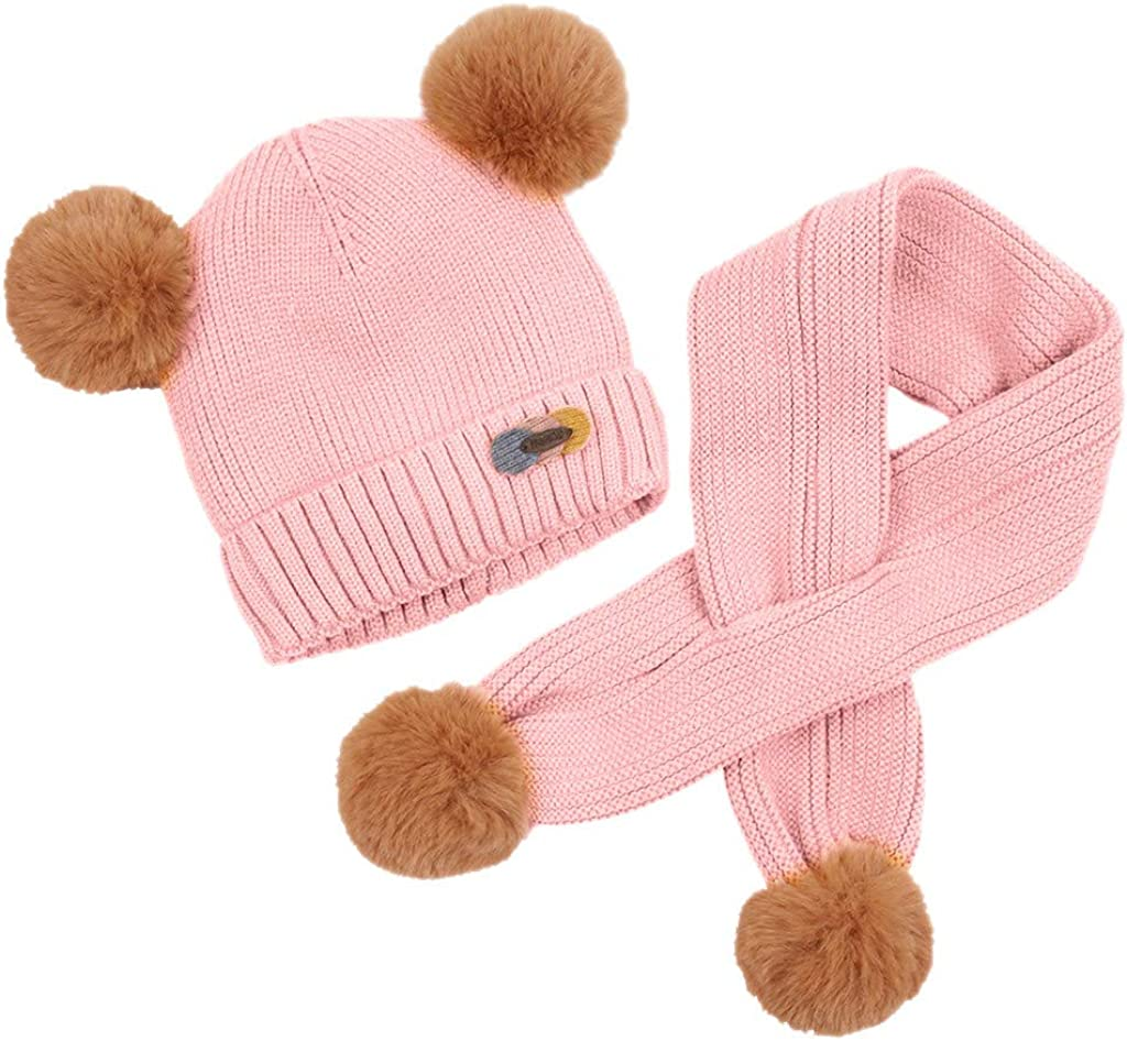 Little Kid Some reservation Soft Winter Warm Jchen Knitted Boys We OFFer at cheap prices Girls Hats