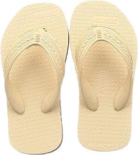 Relaxo Plus Unisex Beige Brown Slippers-7 Kids UK (24 EU) (CU0016K_BGBR0007)